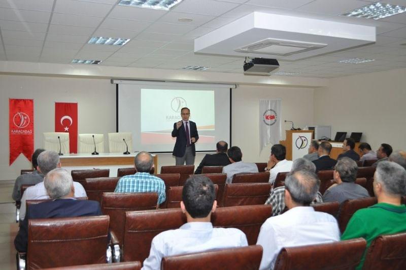 Diyarbakır'da Hibe Desteği Almaya Hak Kazananlara Proje Uygulama Eğitimi!