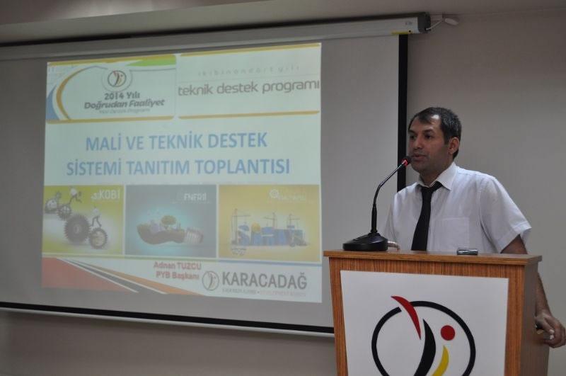 Ajansımız, Mali ve Teknik Destek Sistemlerini Diyarbakır'da Tanıttı!