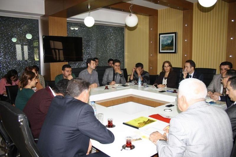 Diyarbakır'daki Cmdp Projeleri Gözden Geçirildi