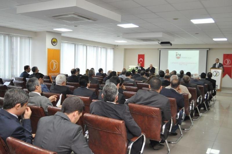 Diyarbakır'daki Kamu Projelerinin Son Durumu Ele Alındı