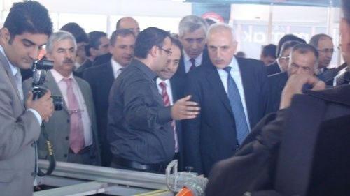 Ortadoğu Üretim Makineleri ve Yan Sanayiler Fuarında Stant Açtık