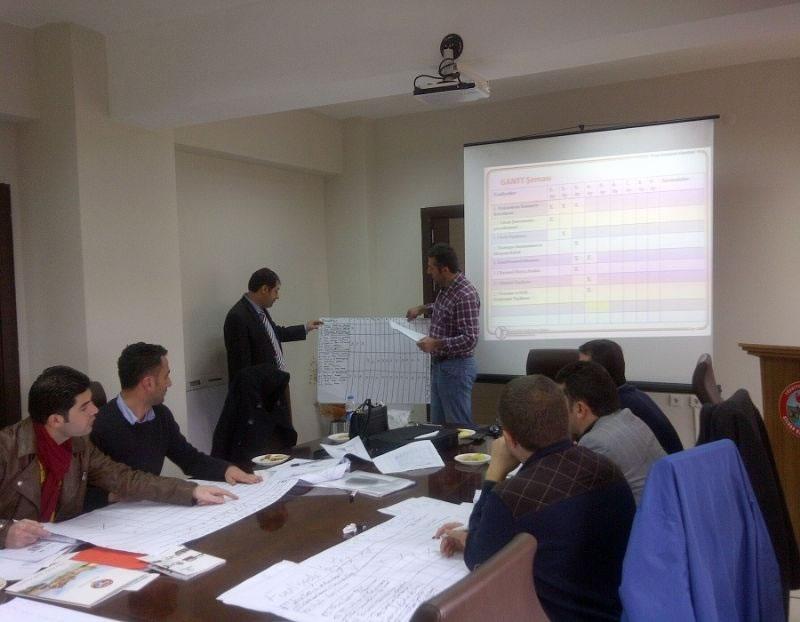 Silvan'da Kaymakamlık Personeline Proje Hazırlama Eğitimi Verildi!