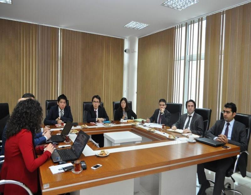 Japon Uluslararası İşbirliği Ajansı'ndan Ajansımıza Çalışma Ziyareti!