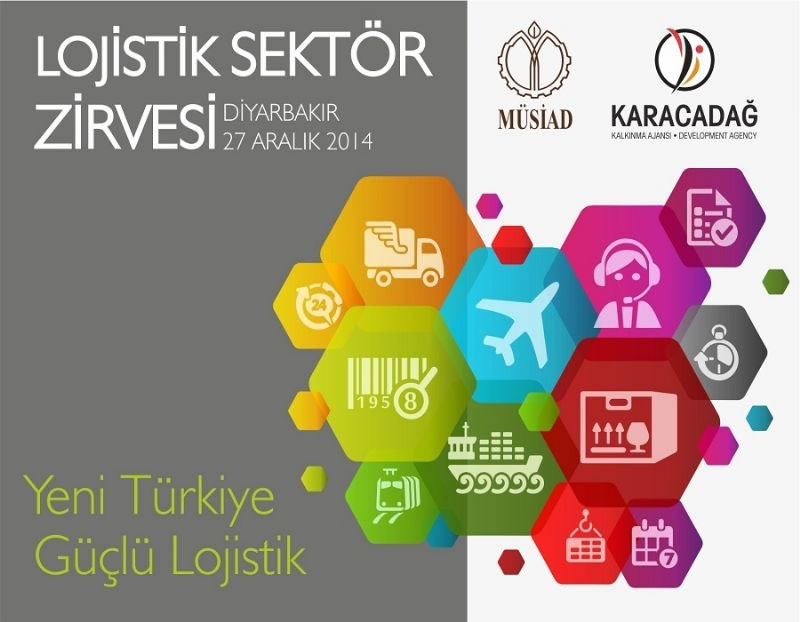 Lojistik Sektörü, Diyarbakır'daki Zirve'de Buluşacak!
