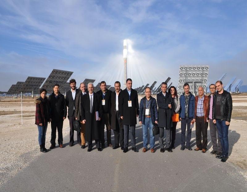 Karacadağ Kalkınma Ajansı Heyeti, Güneş Enerji Santralini Ziyaret Etti!