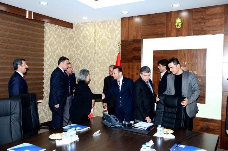 Tekstilkent Değerlendirme Toplantısı Yapıldı!