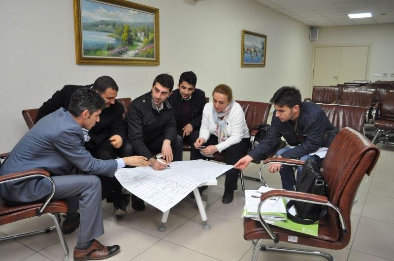 Diyarbakır'da Proje Hazırlama Eğitimi Verildi!
