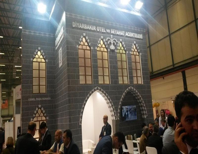 Ajansımızdan Emıtt Fuarı'nda Diyarbakır'ın Tanıtımına Katkı!