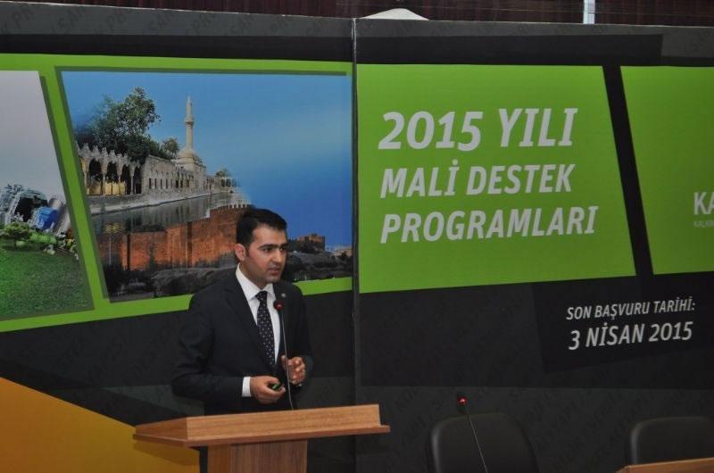 2015 Yılı Mali Destek Programlarına Şanlıurfa'da Start Verildi!