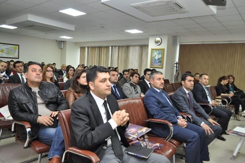 Avrupa Birliği ve Mali Fonlar Bilgilendirme Toplantısı Ajansımızda Yapıldı