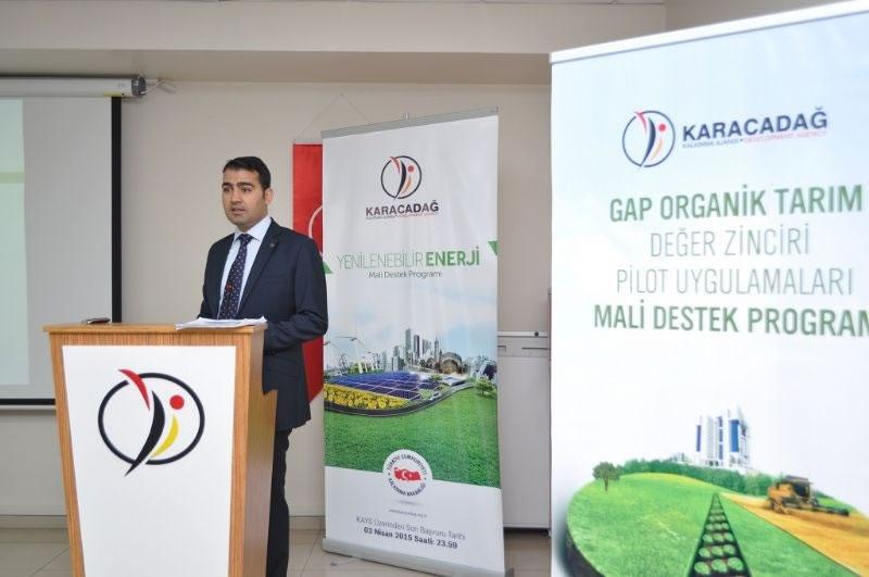 Üreticiler, Organik Tarım Hibe Programı Hakkında Bilgilendirildi