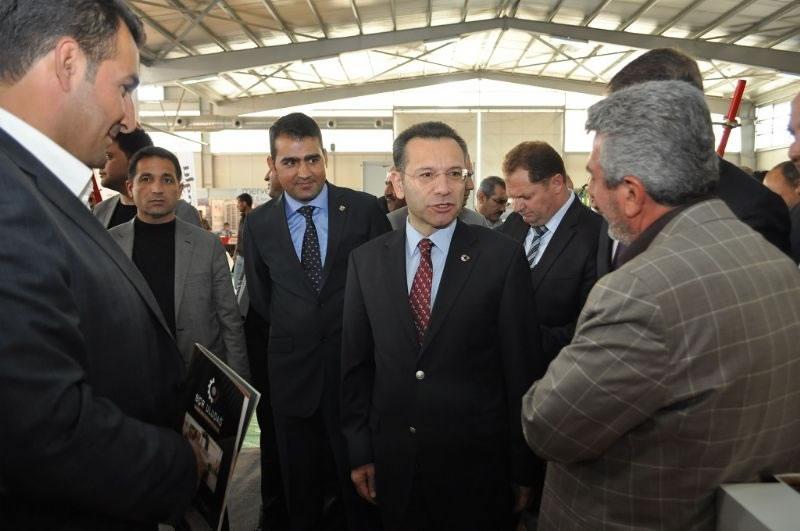 7. Ortadoğu Tarım, Hayvancılık, Tavukçuluk ve Süt Endüstrisi Fuarı Açıldı
