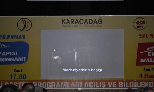 2010 Yılı Mali Destek Programları Açılış ve Bilgilendirme Toplantısı Yapıldı