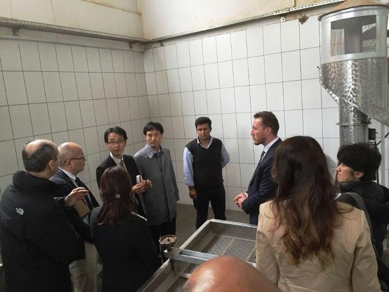 Japonlar, Trc2 Bölgesi Tarım Sektörünü Yerinde İnceledi!