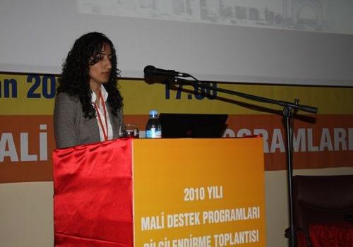 2010 Yılı Mali Destek Programları Şanlıurfa Bilgilendirme Toplantısı Yapıldı