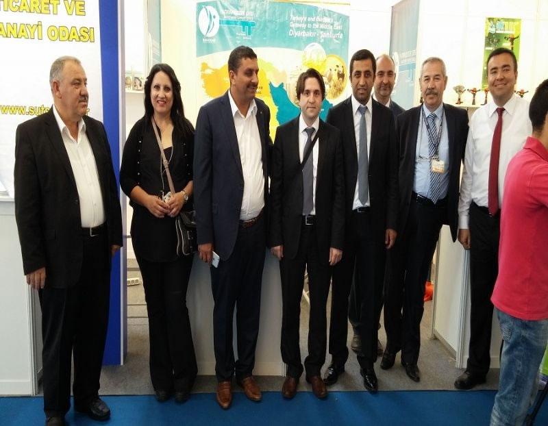 Diyarbakır ve Şanlıurfa Firmaları Cezayir Ticaret Fuarı'na Katıldı