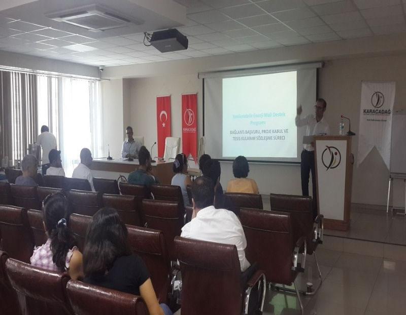 Hibe Desteği Almaya Hak Kazananlara Proje Uygulama Eğitimi!