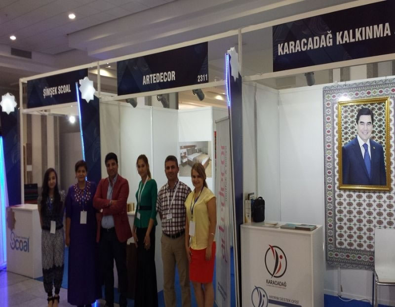 Ajansımız, Türkmenistan İnşaat Fuarı'na Katılım Sağladı