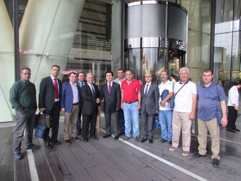 Diyarbakır ve Şanlıurfa Osb Yönetimleri'nden Çin ve Hong Kong'a Ziyaret