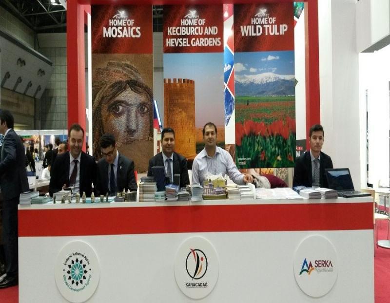 Diyarbakır, Tokyo Jata Turizm ve Seyahat Fuarı'nda Tanıtıldı!