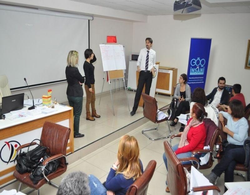 Göç ve İnsani Yardım Vakfı Üyelerine Proje Hazırlama Eğitimi