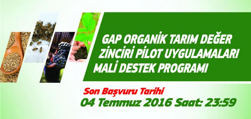 Organik Tarım ve Sanayide Enerji Verimliği Programlarına Başvurular Başladı!