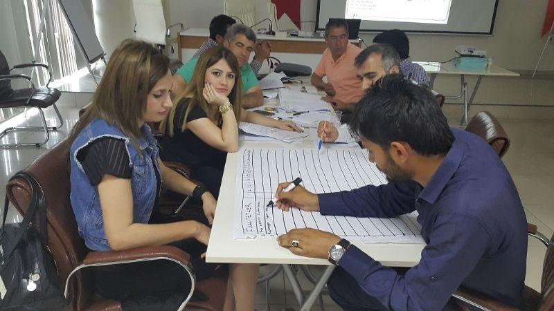 Hazro Milli Eğitim Müdürlüğü Personeline Proje Hazırlama Eğitimi!