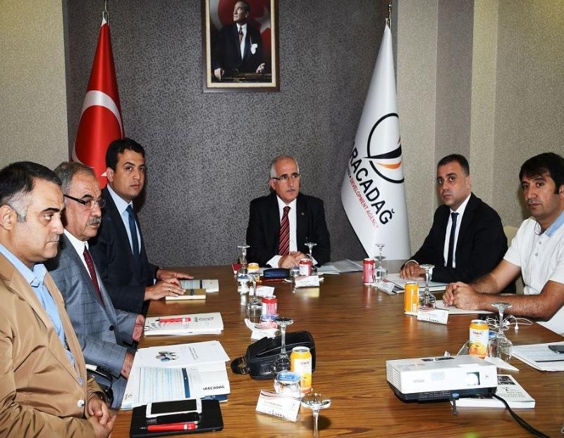 Yönetim Kurulumuz, Şanlıurfa Valisi Güngör Azim Tuna Başkanlığında Toplandı!
