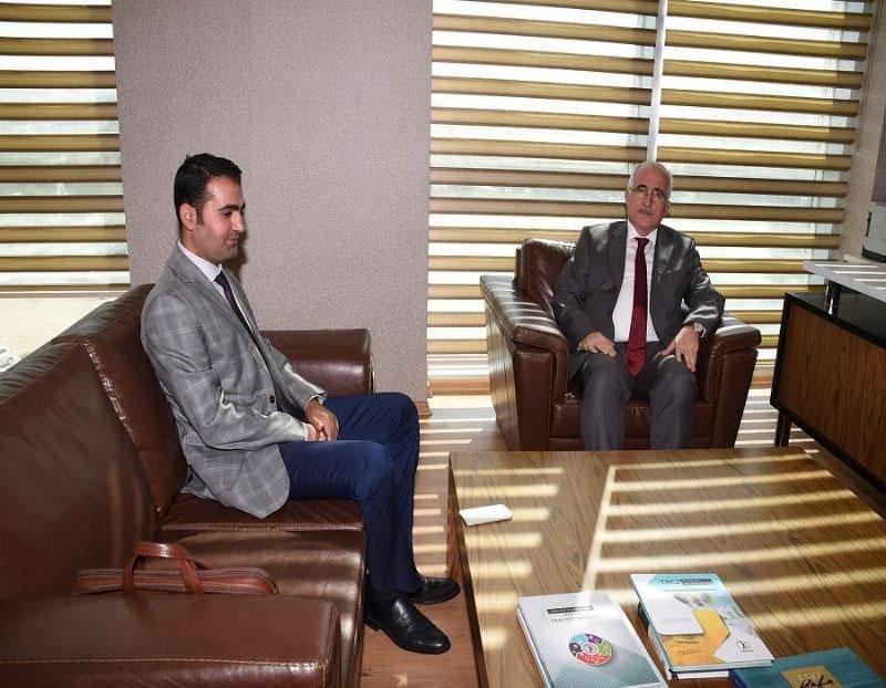 Şanlıurfa Valisi Güngör Azim Tuna'dan Ajansımıza Ziyaret