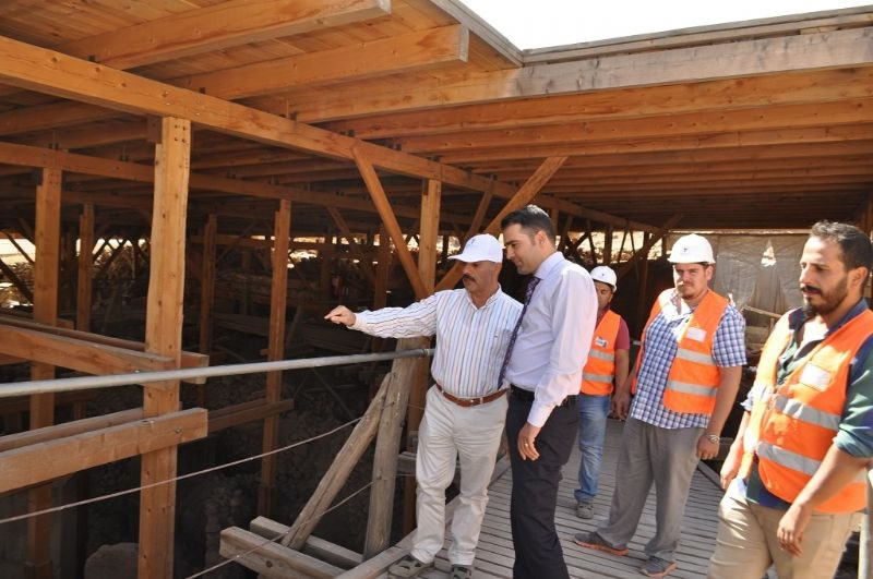 Şanlıurfa'da Tarihi Yeniden Canlandıracak Proje Tüm Hızıyla Devam Ediyor