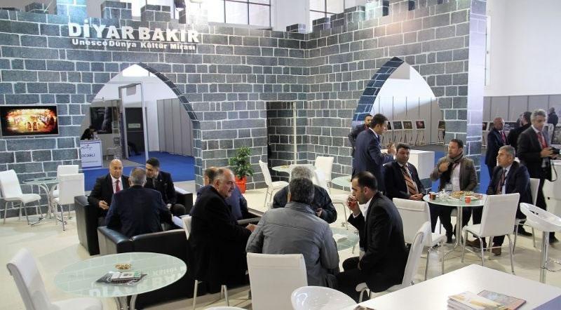 Diyarbakır Travel Turkey Fuarı'na ' Tam Kadro Katıldı'