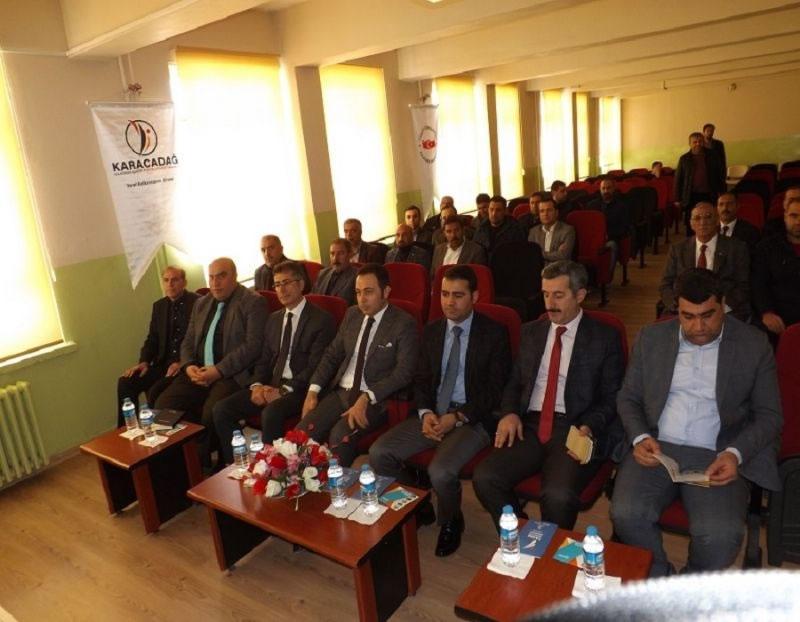 Cazibe Merkezleri Programları Ergani'de Anlatıldı