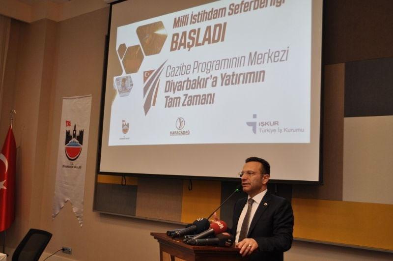 Vali Aksoy: Bütün Hedefimiz Diyarbakır'a Daha Çok Yatırım Çekmek