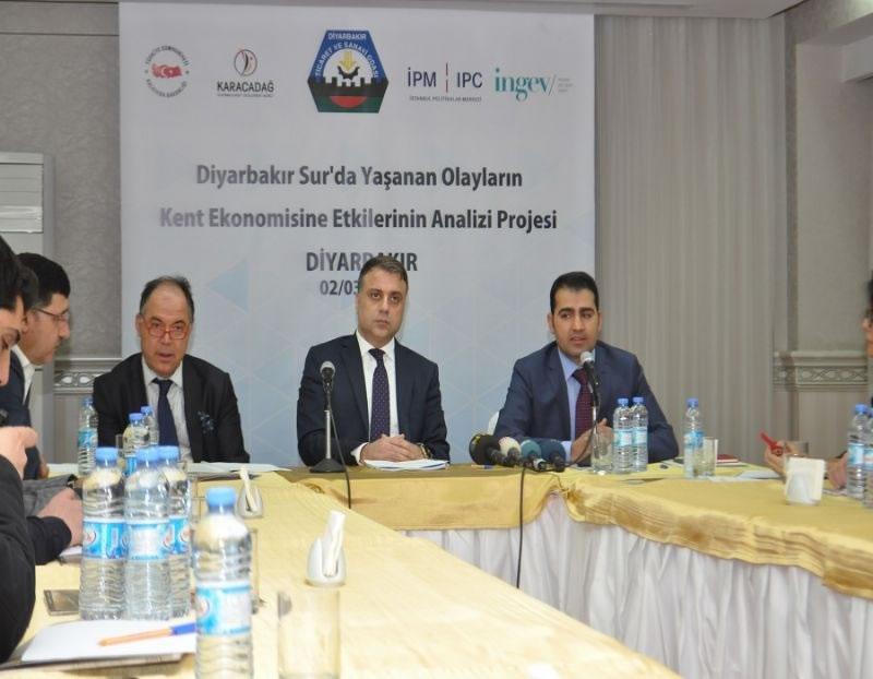 Sur'da Yaşanan Olayların Diyarbakır Ekonomisine Etkileri Açıklandı