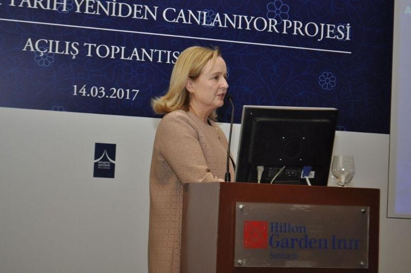 Şanlıurfa'da Tarih Yeniden Canlanıyor Projesinin Açılışı Gerçekleştirildi