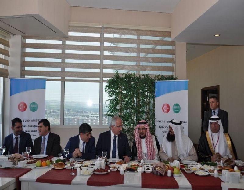 Arap İş Adamı Heyeti, Şanlıurfa'da Yatırım İçin İncelemelerde Bulundu