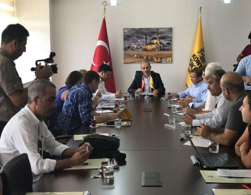 Şanlıurfa'da Turizmin Canlanması İçin Konya ve Antalya Modelleri İncelendi