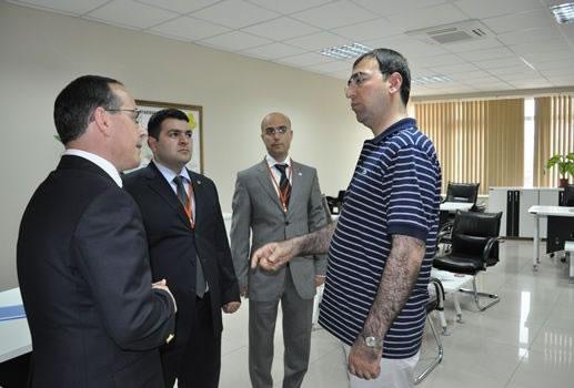 Diyarbakır Valisi Sayın Mustafa Toprak'tan Ajansımıza Ziyaret