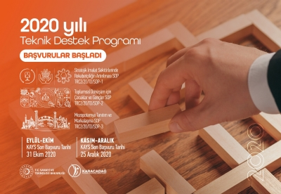 2020 Yılı Teknik Destek Programı Başvuruları Başladı