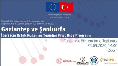 Ortak Kullanım Atölyeleri İçin 1.8 Milyon Euro'luk Hibe Programı
