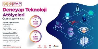 Deneyap Teknoloji Atölyelerine Son Başvuru Tarihi 6 Ocak 2020