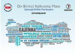 Türkiye'yi 2023 Hedeflerine Hazırlayacak Kalkınma Planı Hazırlıkları Start Aldı