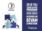 2018 Yılı Teknik Destek Programı Kasım-Aralık Başvuruları Devam Ediyor