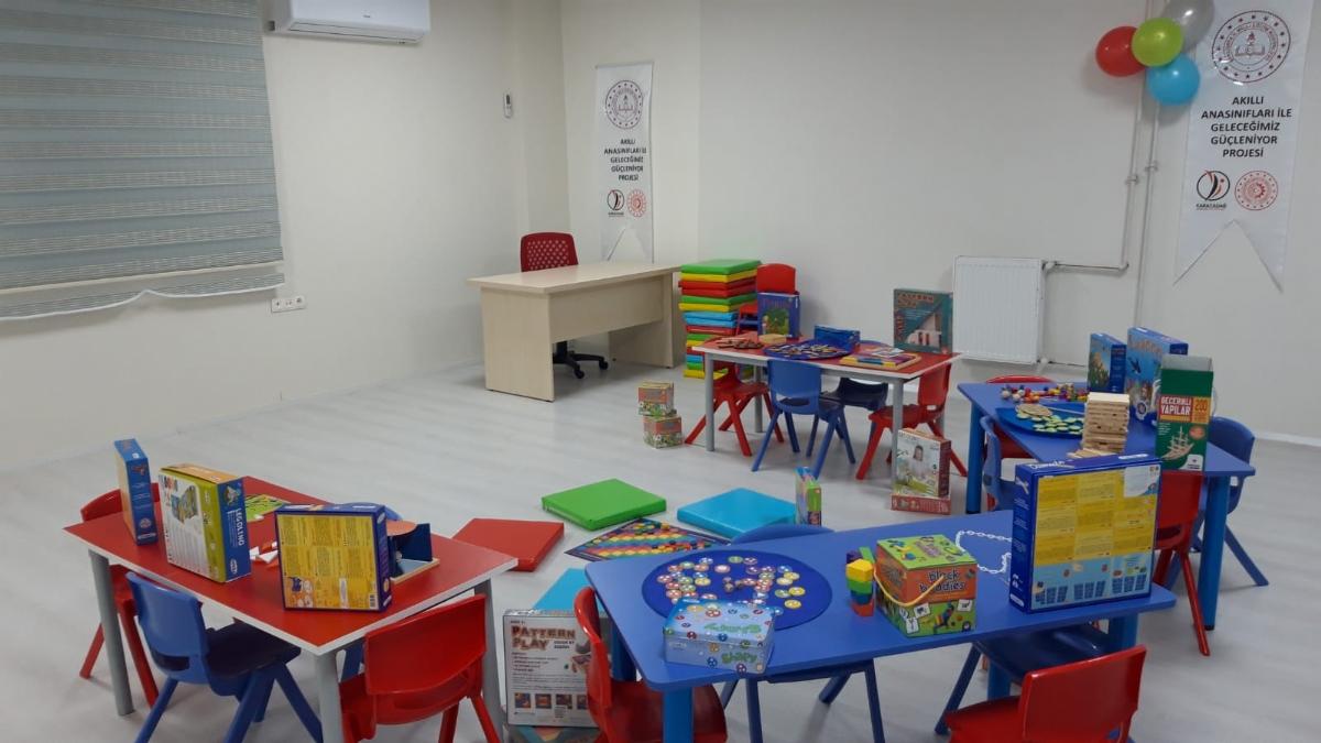 Ajansımız Destek Verdi, Şanlıurfa'daki Anaokullar Modern Eğitime Hazır Hale Geldi