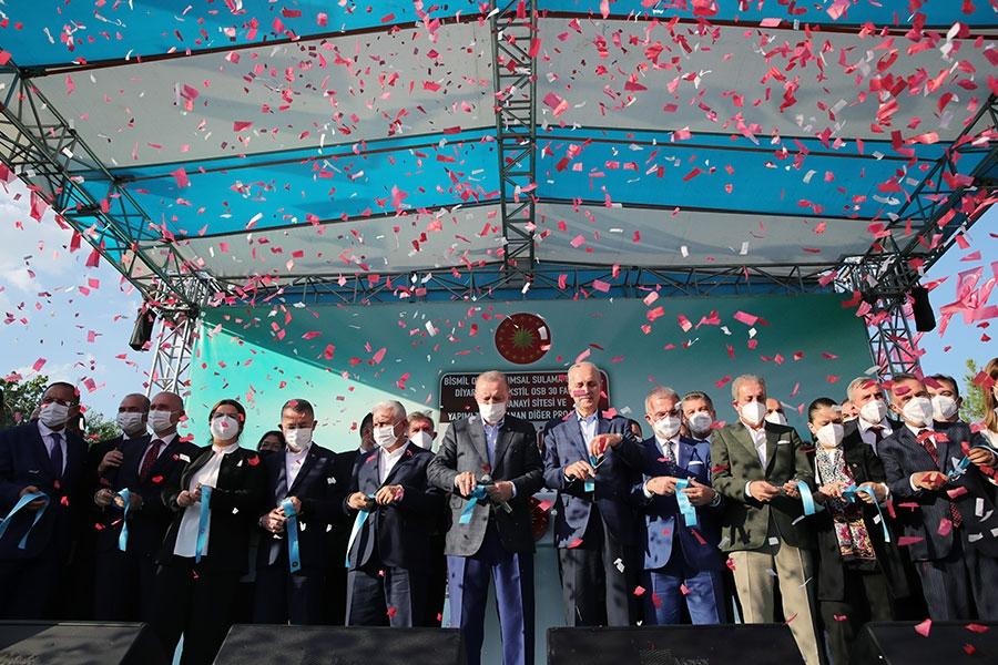 Cumhurbaşkanı Erdoğan, Diyarbakır'da 30 Yeni Fabrikanın Açılışını Gerçekleştirdi