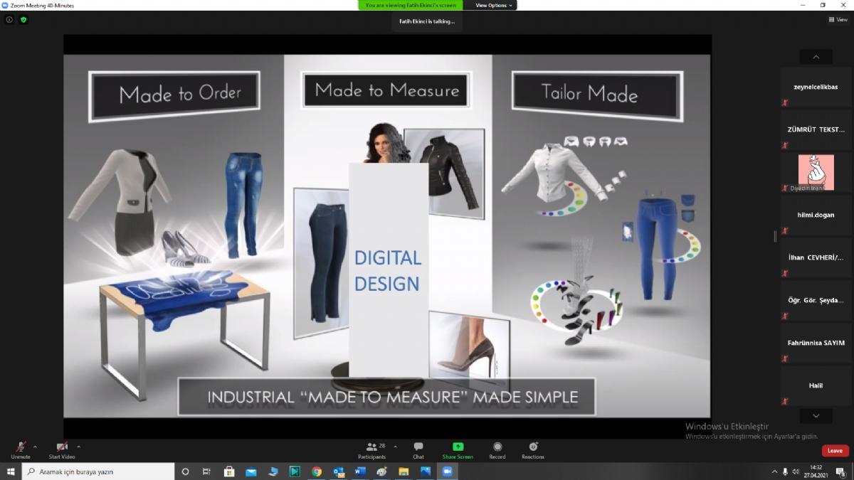 Hugo Boss'un Tekstilde Dijital Dönüşüm Deneyimi, Bölge Tekstilcileriyle Paylaşıldı