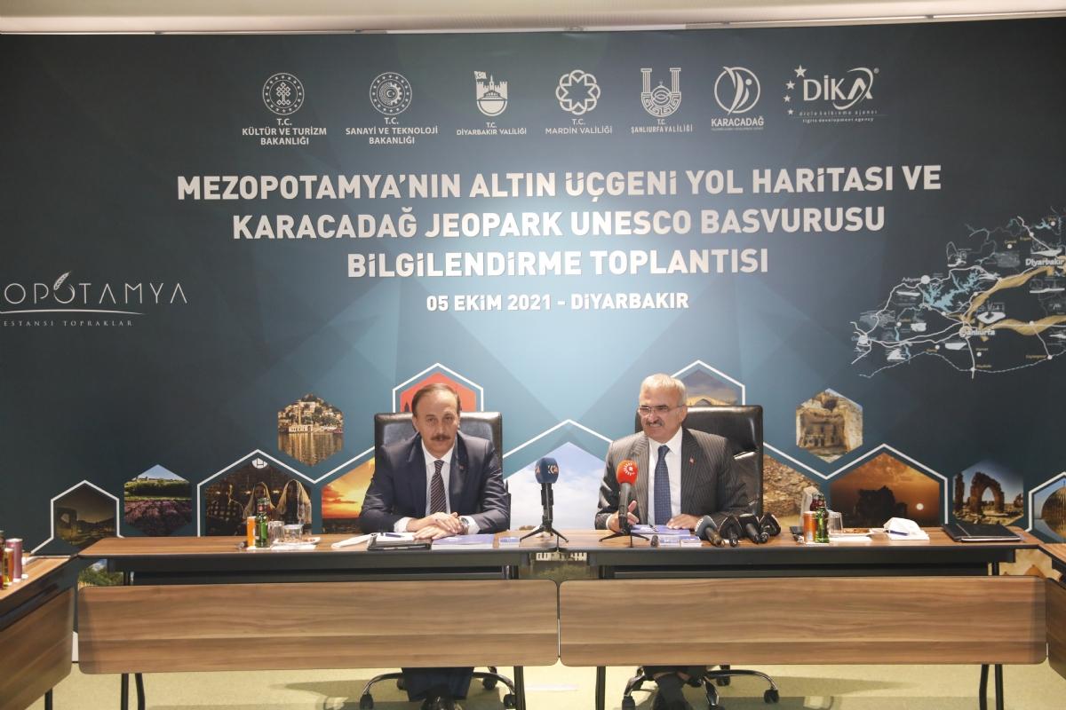 Karacadağ Jeopark UNESCO Yolunda