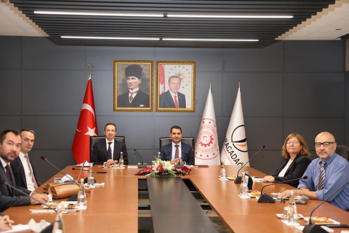 Türkiye Cumhuriyet Merkez Bankası Heyeti Ajansımızı Ziyaret Etti