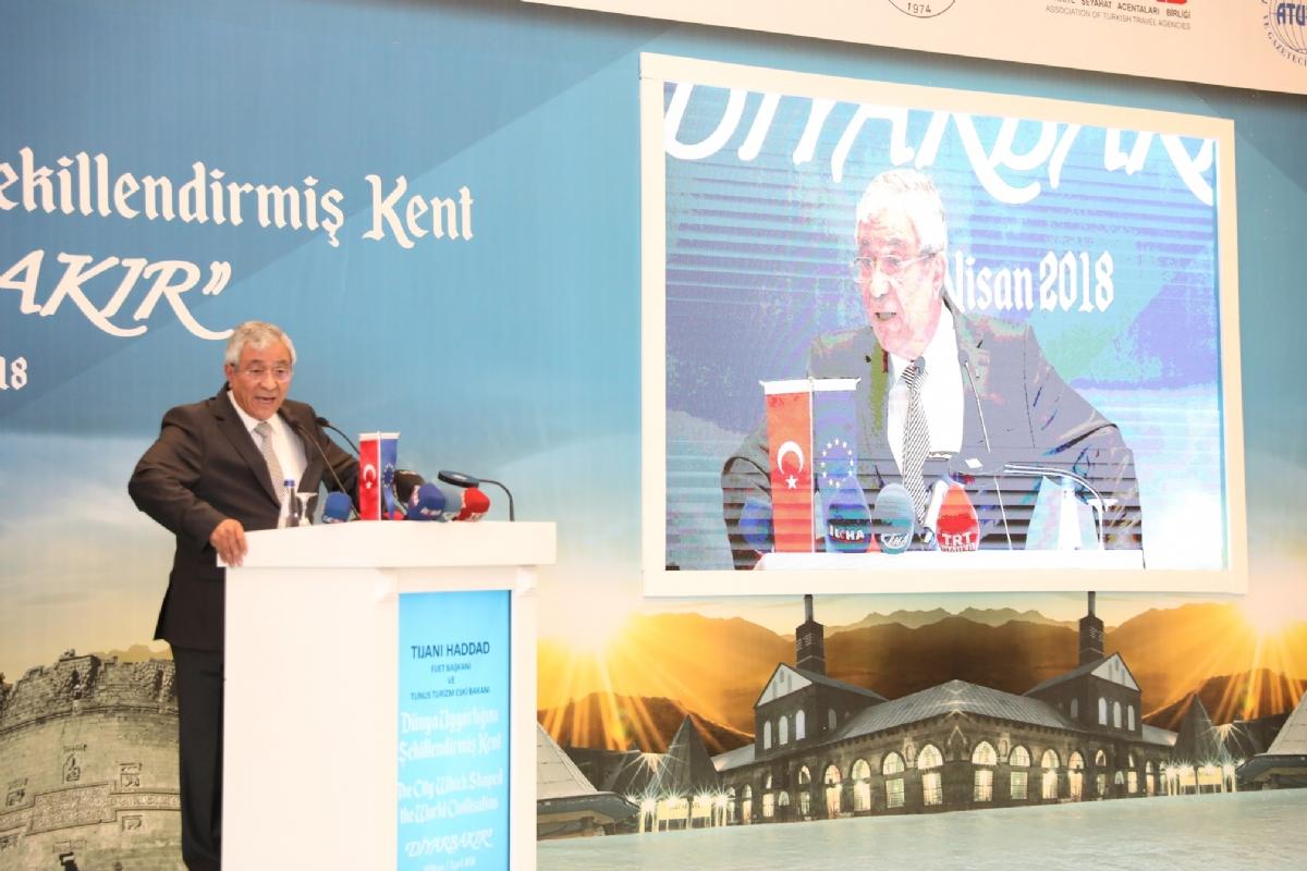Dünya Turizm Yazar ve Gazetecilerinden Diyarbakır'a Çıkarma