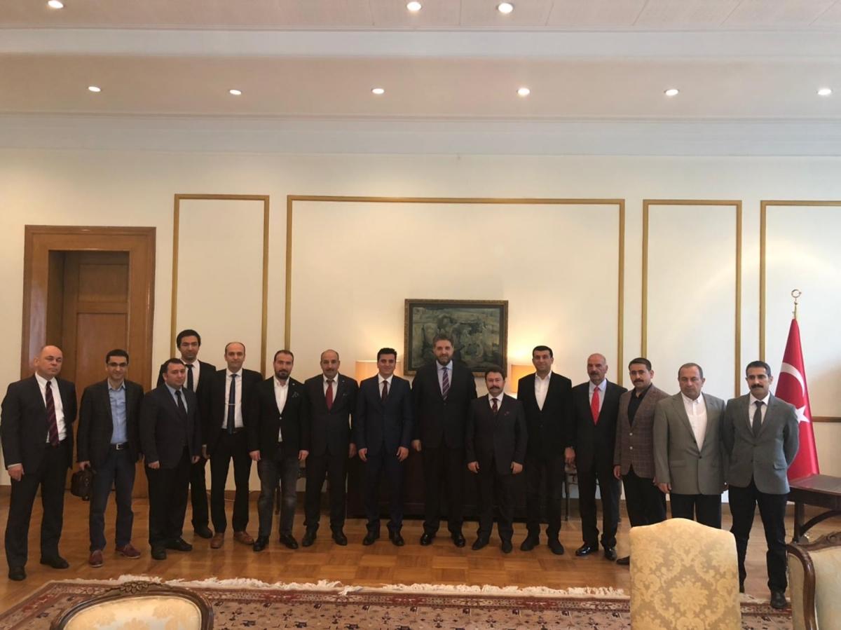 Şanlıurfa'nın Yatırım Fırsatları Çin'de Tanıtıldı